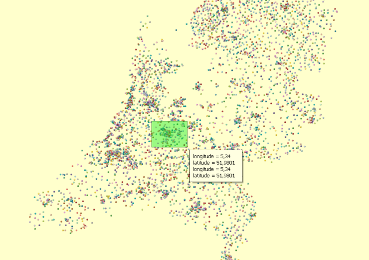 Solved: Plot longitude and latitude of postal codes in the    - Qlik