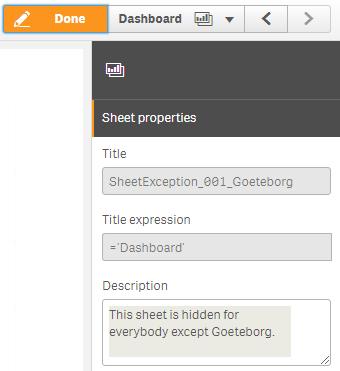 Dynamic Sheet Exception - Qlik Community