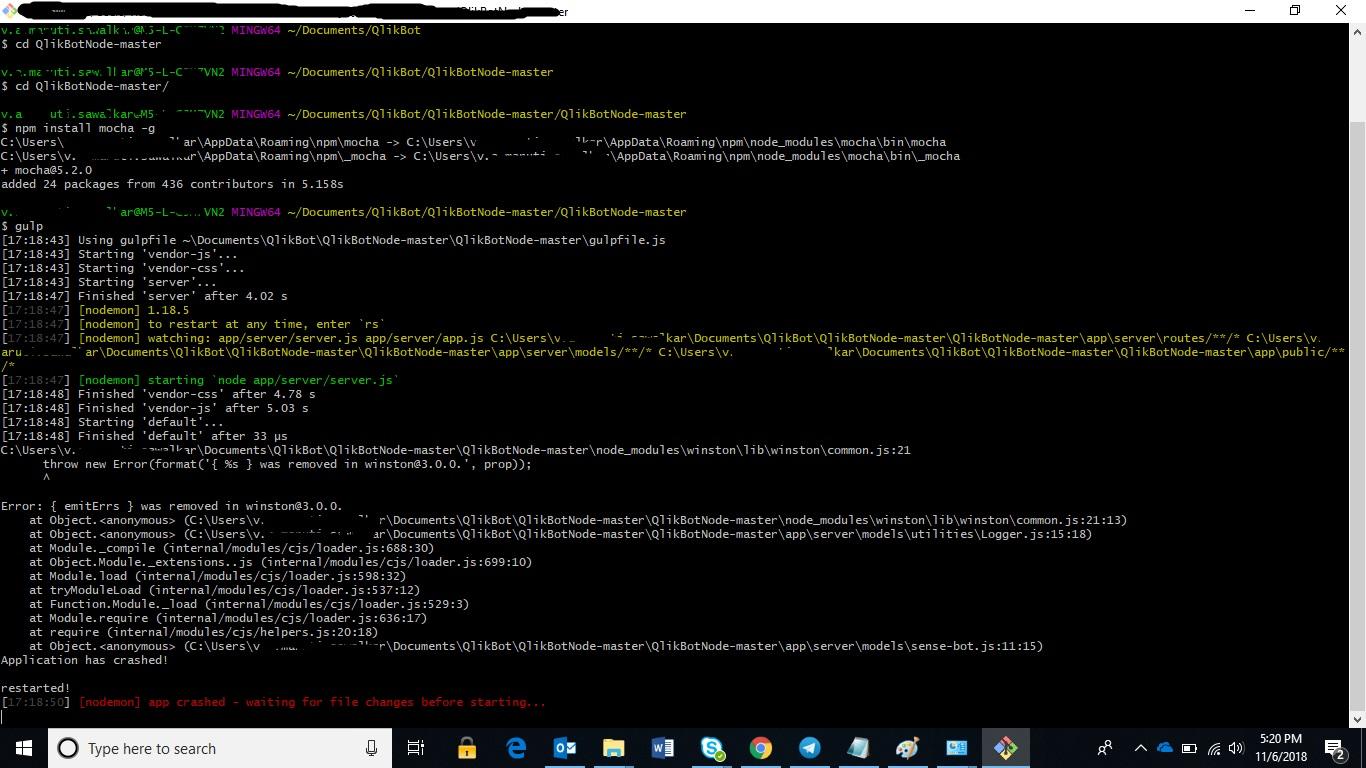 Qlik Sense Bot With Node Js And Enigma Js Page 6 Qlik Community 1473293