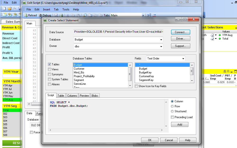 how to create table from sql server - Qlik Community