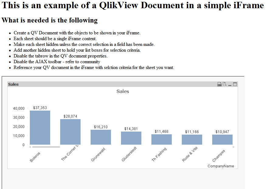 iFrame Integration Example - Qlik Community