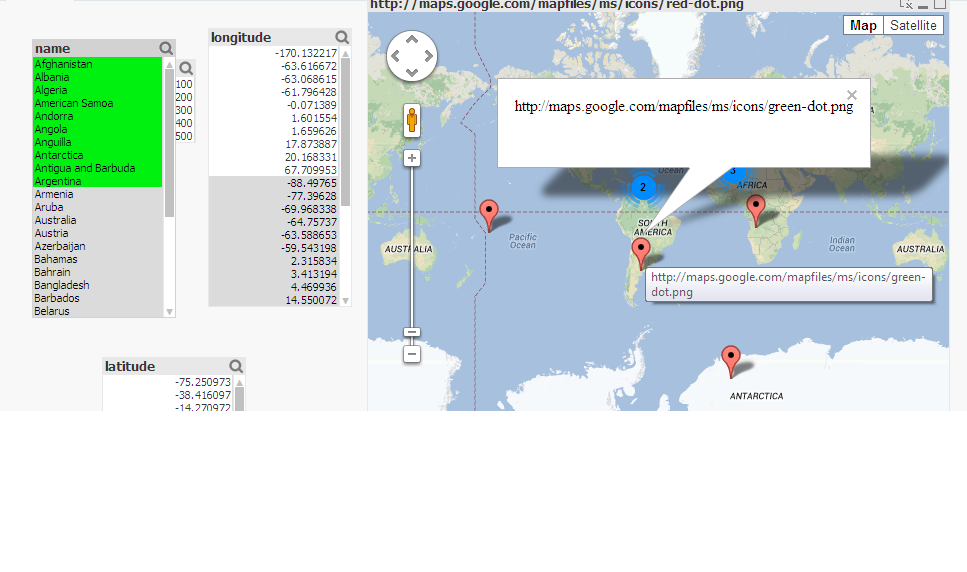 how to change the marker color on google map ?? - Qlik Community Change Google Map Marker Color on