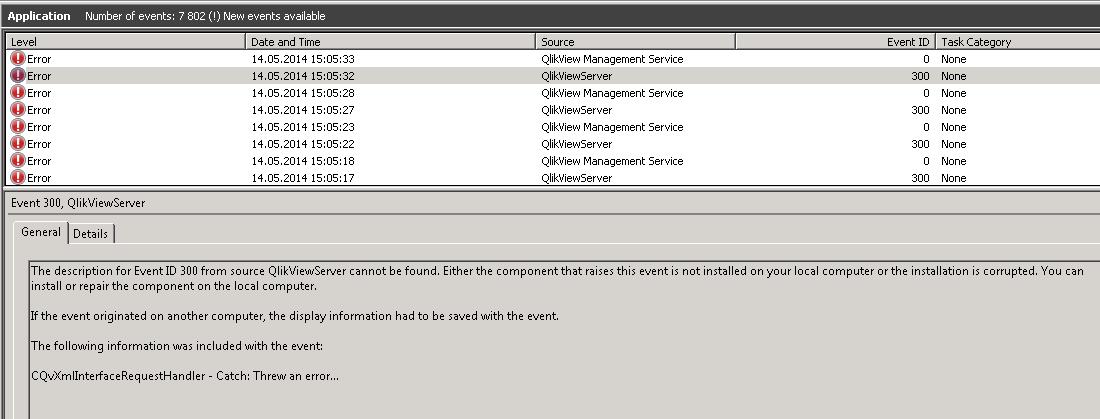 Solved: Re: Access Point Message: No Server (QVS Error CQv    - Qlik