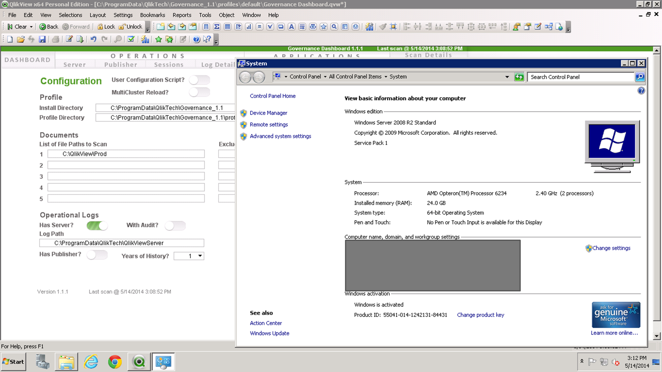 Governance Dashboard: Error in hidden script - Qlik Community