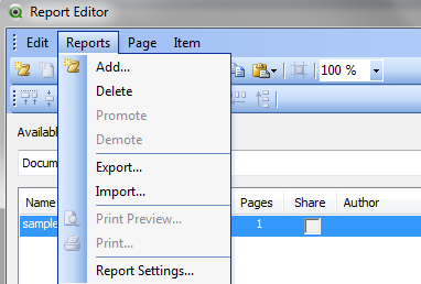 Solved: Report and Print Greyed Out - Qlik Community