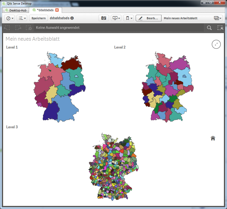KML files for Germany, Austria, Switzerland (Count    - Qlik