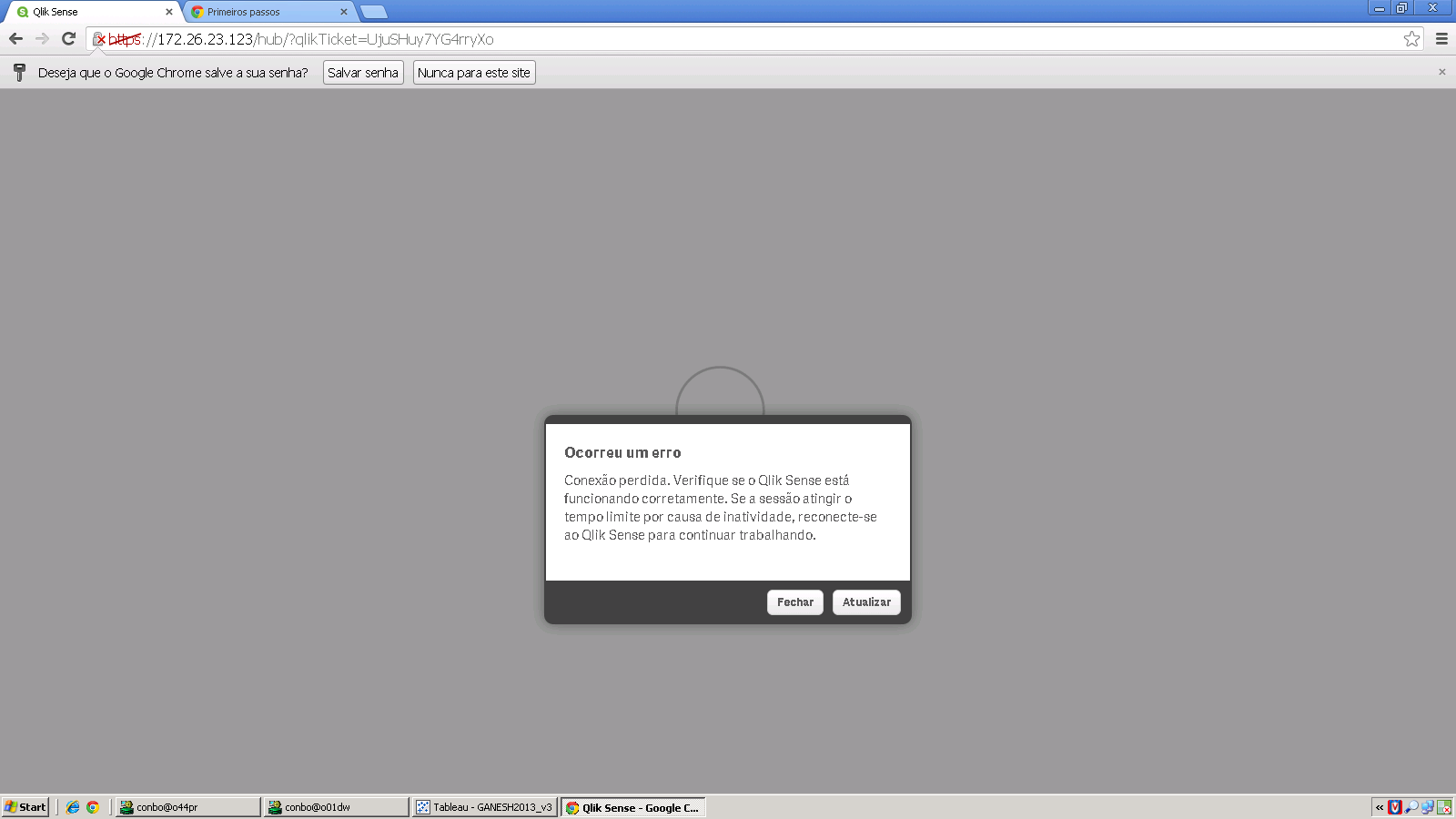 Solved: Unable to connect to Qlik Sense HUB (server) - Qlik Community