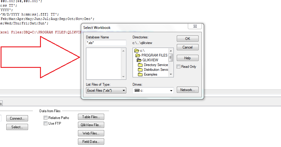ODBC Connect to Oracle Database  'Select Tables' p    - Qlik