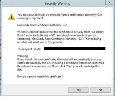 Re: Installing SSL Certificate for Qlik Sense - Qlik Community