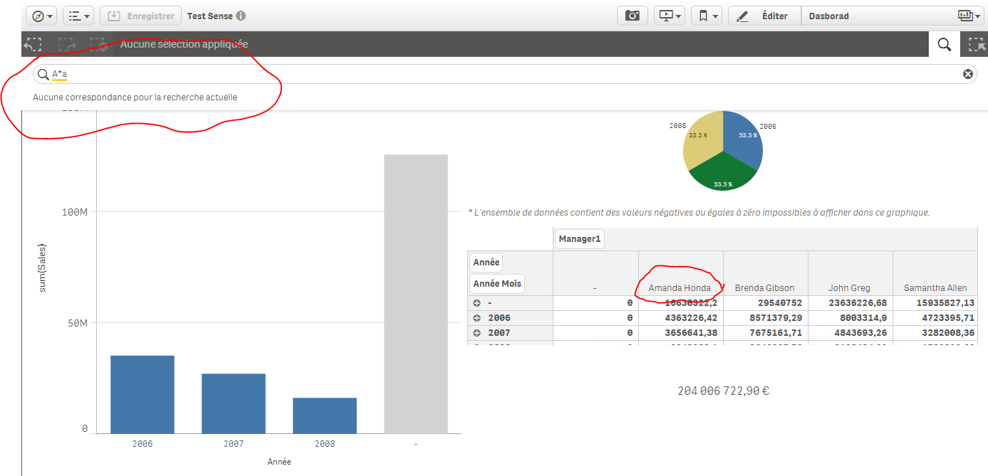 The reference that its not working : Qlik Sense - Global Smart Search  (video)