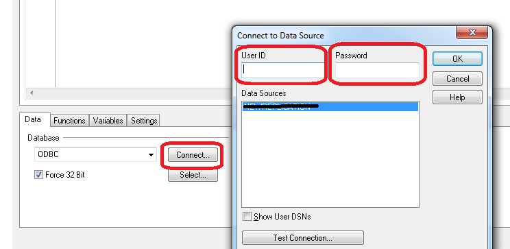 Solved: Oracle ODBC connectivity - password prompt - Qlik