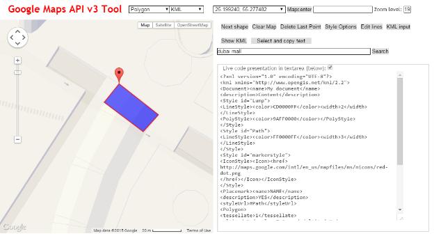 Create a KML polygon shape file manually and use i    - Qlik Community