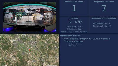 Qlik Core app providing Incident Commander improved situational awareness