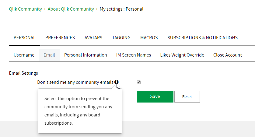 My Settings - Personal - Email.png