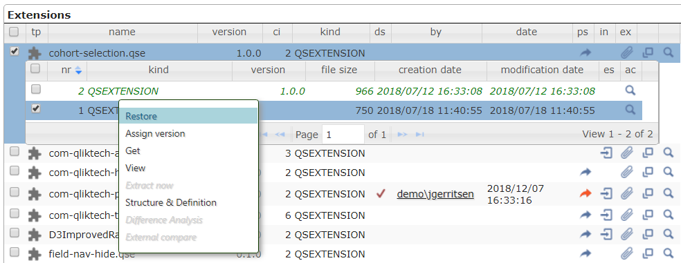 Figure 6 - Extension versions and restore.png