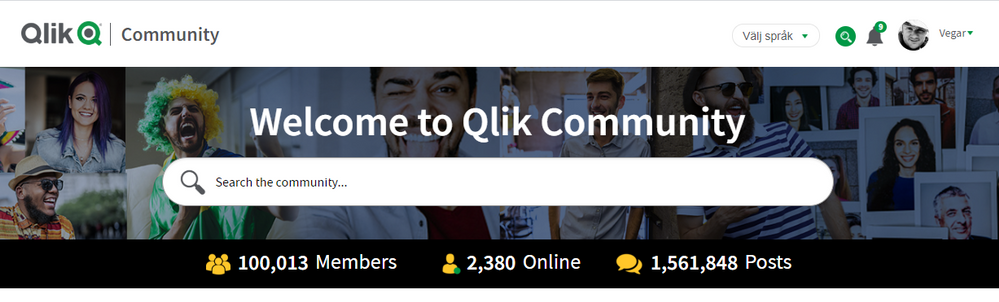 WOW!  We'be become over 100 000 members in our community