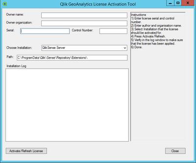 Geo Analytics License Activation Tool.png