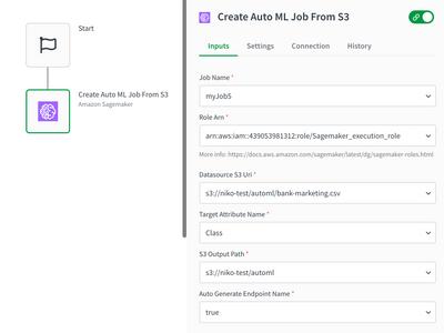 Sagemaker Create AutoML block