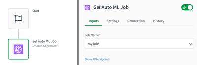 Sagemaker get AutoML job block