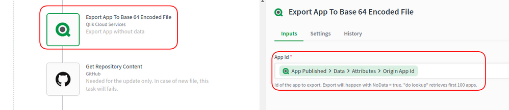 Export App to Base 64 Encoded File