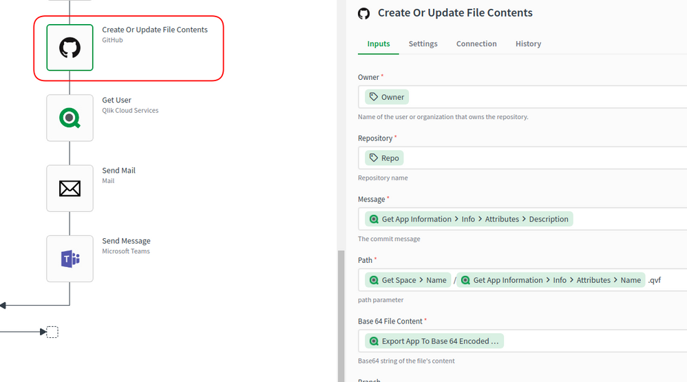 Create or Update File Contents