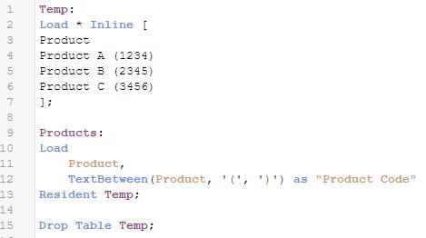 TextBetween Function - Qlik Community