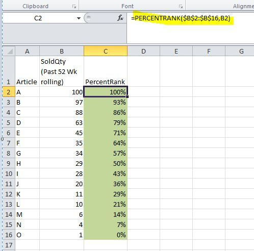 Solved: PercentRank function in qlik? - Qlik Community