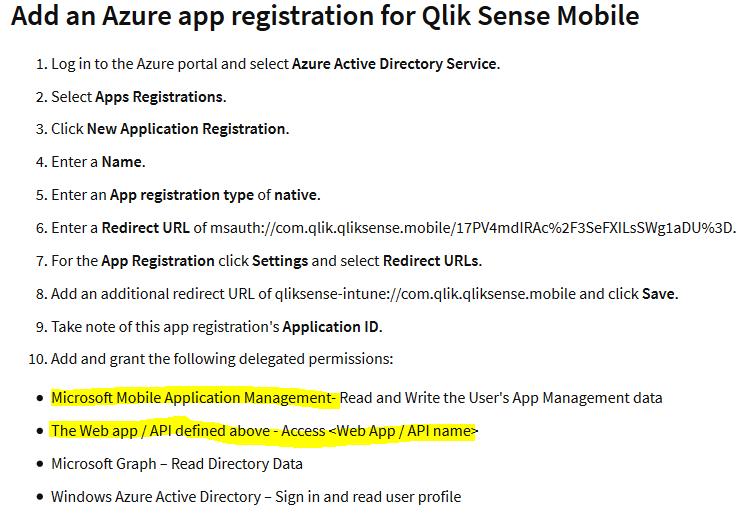 Qliksense Registration