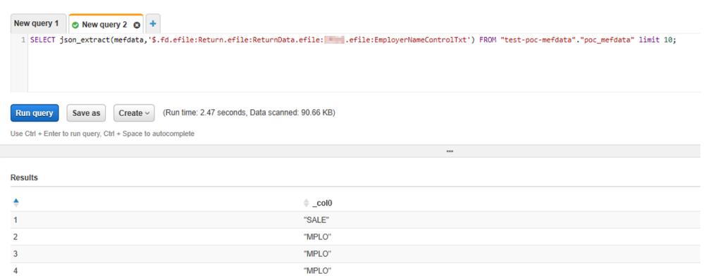 QlikSense AWS Json parsing - Qlik Community