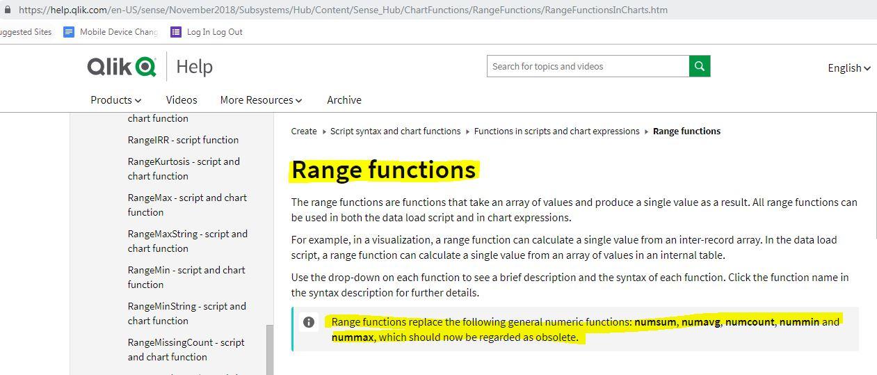 Solved: Using range functions instead of num sum/num count