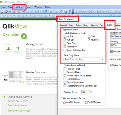 Select all check boxs in the clipboard export area of QV desktop user preferences.PNG
